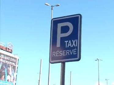 Taxi služby u brněnského nádraží