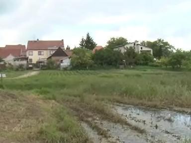 Laguna u Krumvíře na Břeclavsku