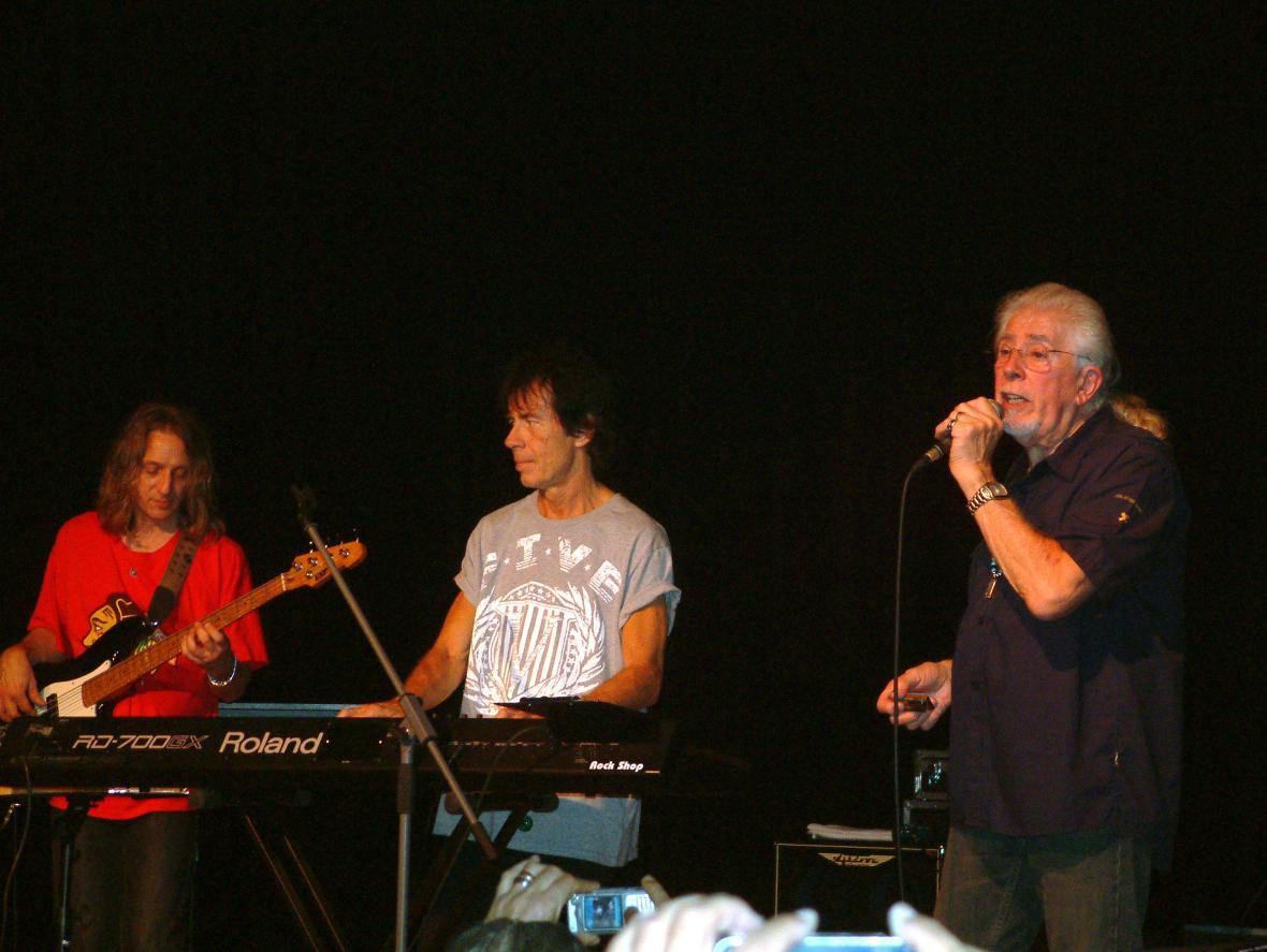 John Mayall & the Bluesbreakers v Brně