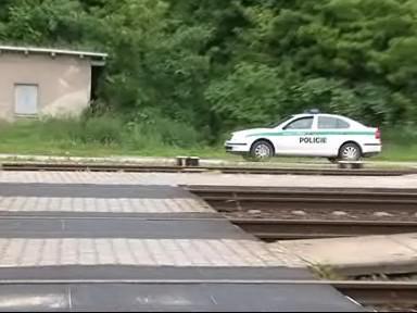 Policie na nádraží