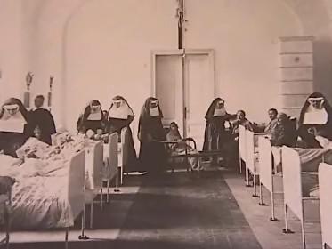 Archivní fotografie Hospice sv. Alžběty