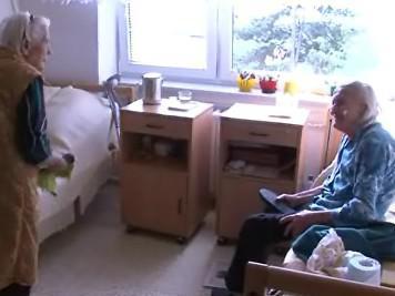 Senioři v kyjovském domově důchodců