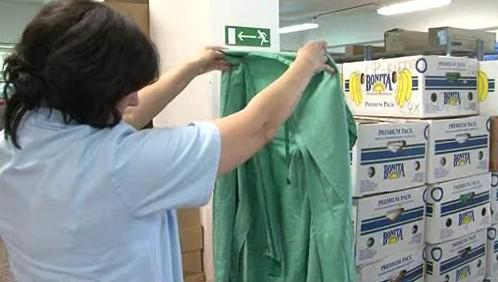 ložní prádlo pro kyjovskou nemocnici