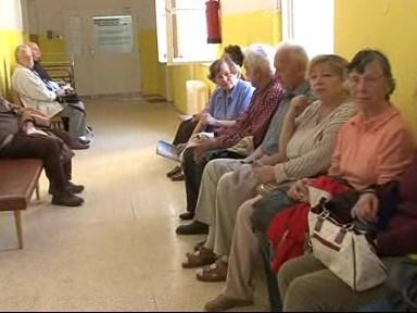 Pacienti ve Vojenské nemocnici
