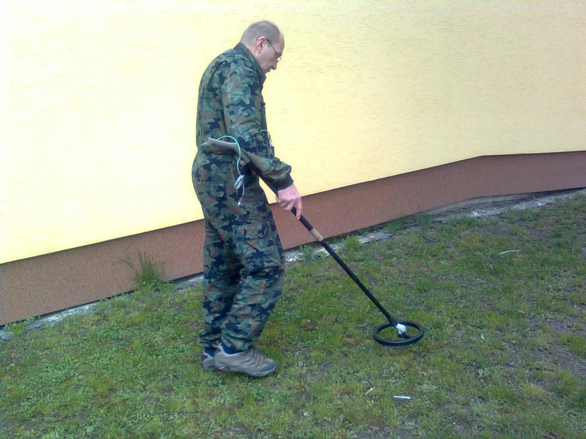 V Bořeticích hledají pumu z konce války