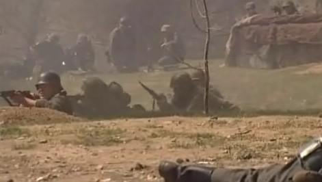 Ukázková bitva u Ořechova