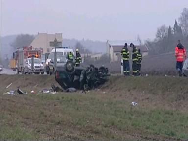 Dopravní nehoda u Kuřimi