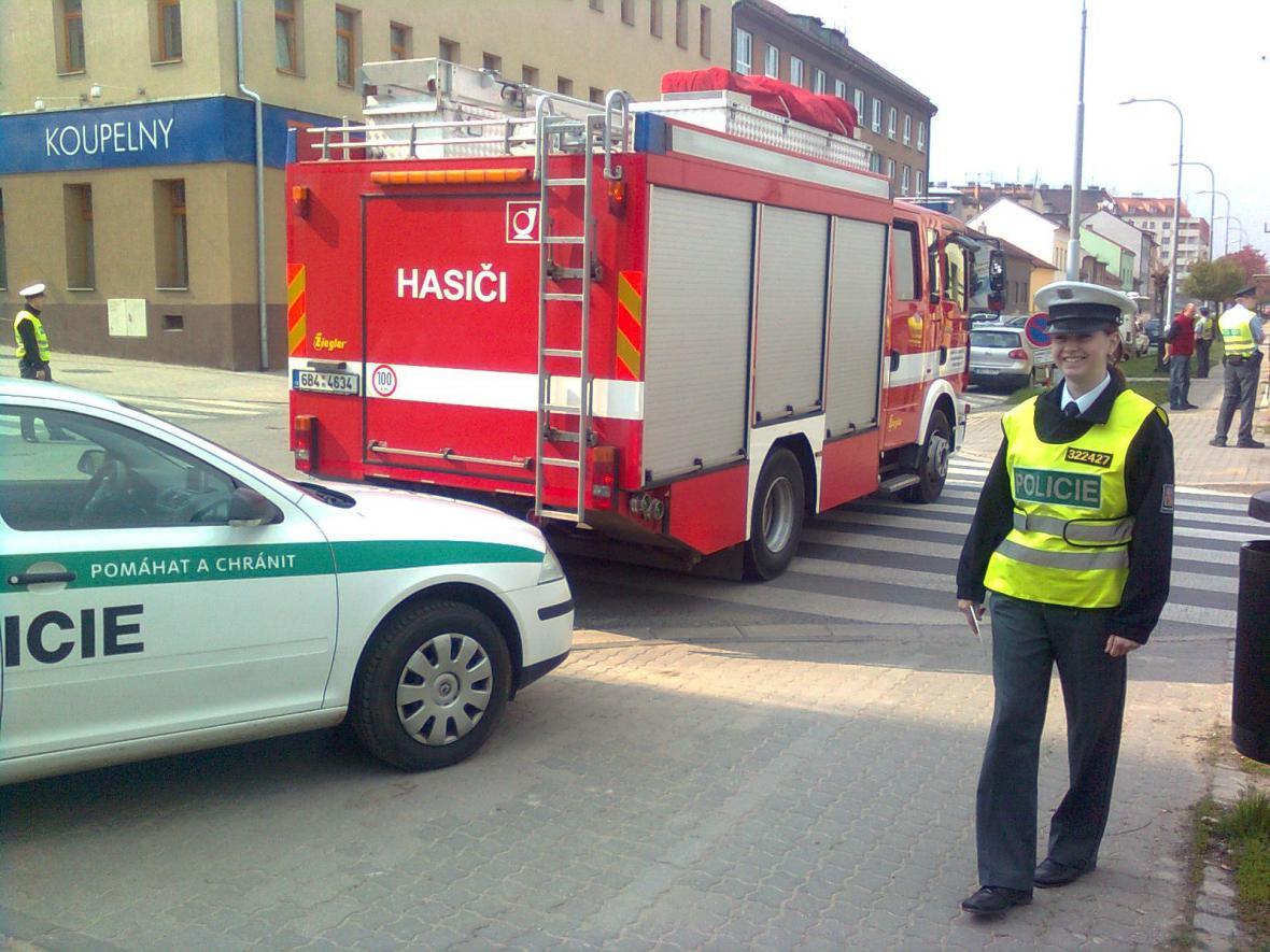 Reissigova ulice byla uzavřena kvůli úniku plynu