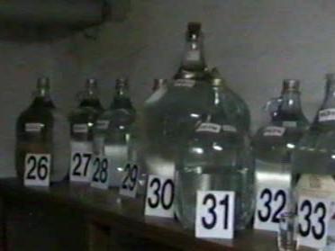 exponát Muzea pálenky ve Vlčnově