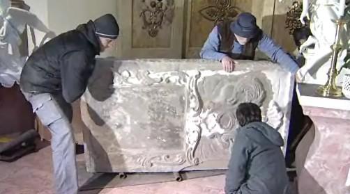 vzácný náhrobek z Kelče