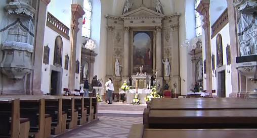kostel svatých Petra a Pavla v Kelči