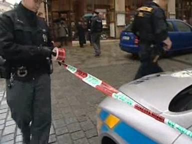 Policisté uzavřeli okolí nálezu