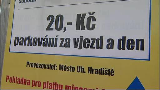 Parkování v Uherském Hradišti
