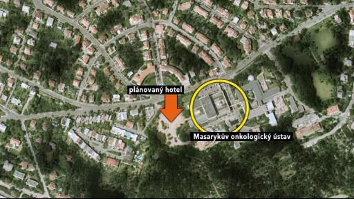 Masarykův onkologický ústav ubytuje pacienty v hotelu