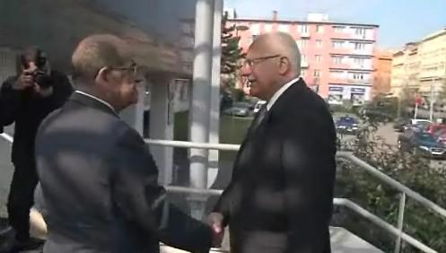 setkáni prezidenta Václava Klause s ombudsmanem Otakarem Motejlem