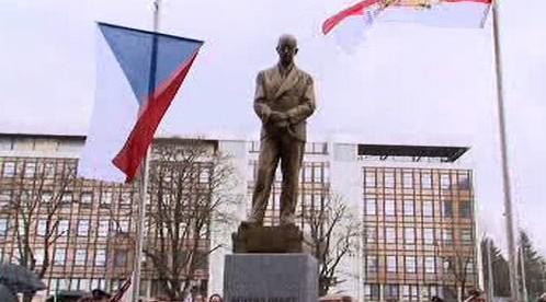 Socha prezidenta Edvarda Beneše