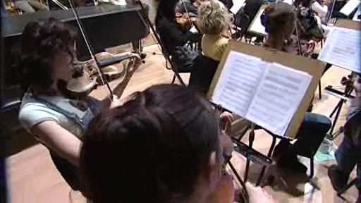 Filharmonie Bohuslava Martinů hraje Pink Floyd - záběry z dnešní zkoušky