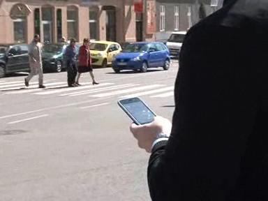 Vyhledávání trasy mobilem