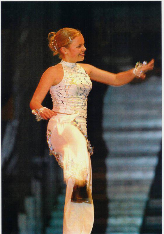 Ředitelka taneční skupiny NOFEET