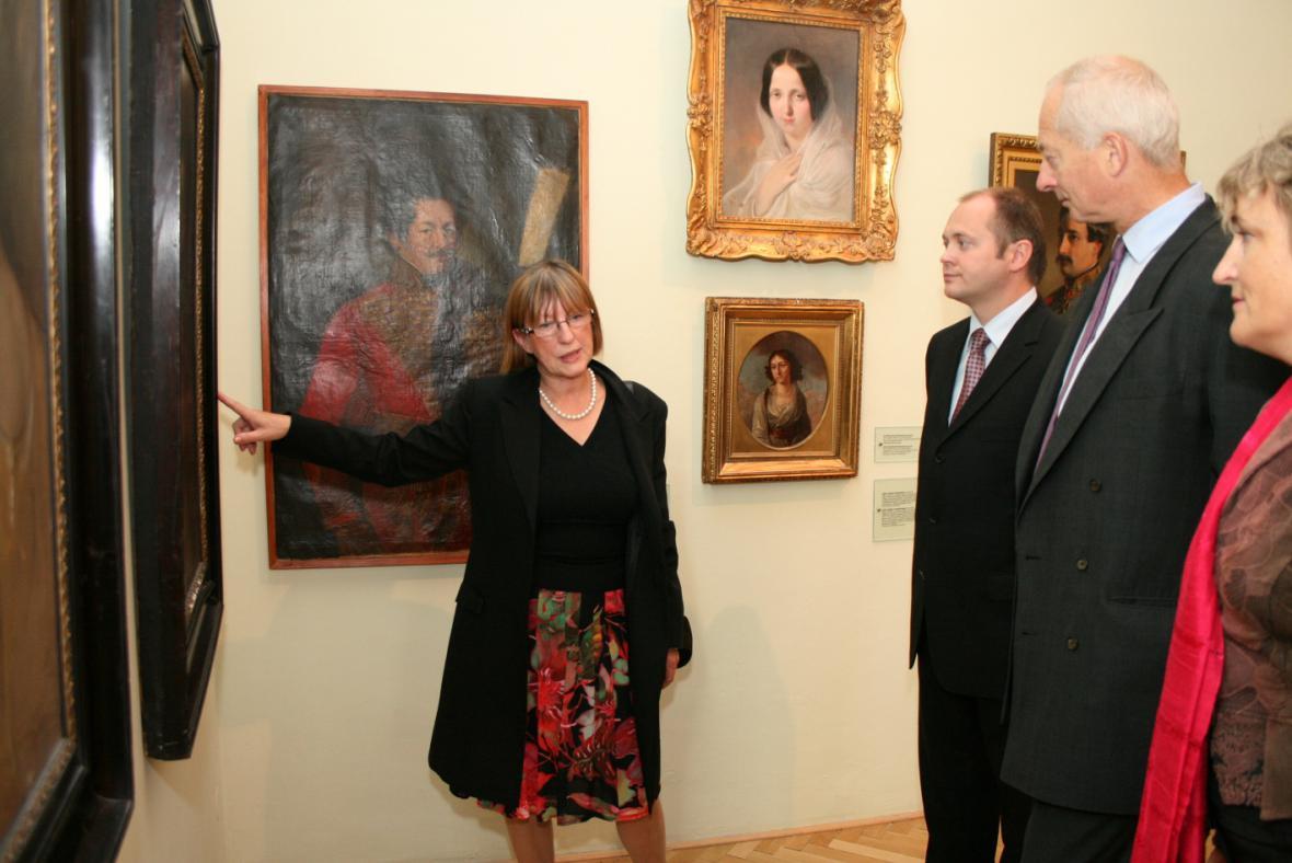 setkání hejtmana Michala Haška s knížetem Hansem Adamem