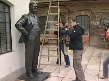 Baťova socha ve Zlíně