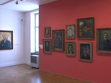 Obrazy v Moravské galerii