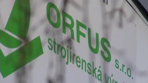 Opuštěná továrna Orfus