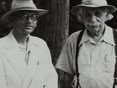 Kurt Gödel a Albert Einstein