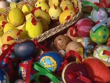 Náměstí Svobody poprvé ve velikonočním kabátě