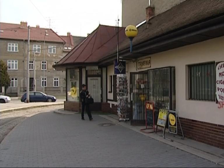Přepadená trafika v Brně-Černých Polích