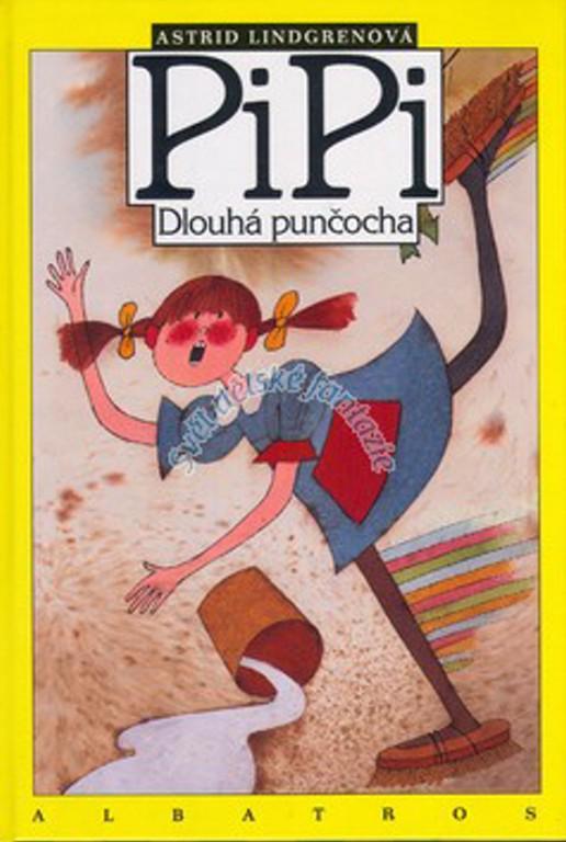 knížka Pipi Dlouhá punčocha