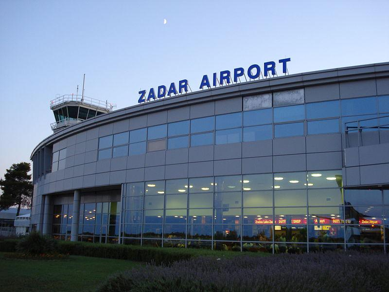 Budova letiště v Zadaru