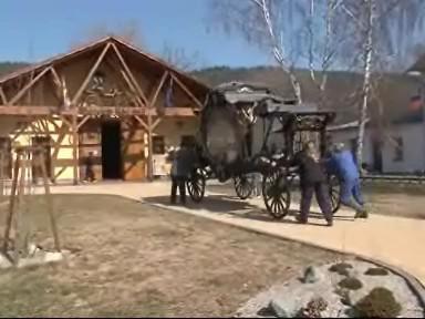 Největší pohřební kočár