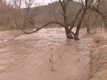 řeka Dyje v Podhradí