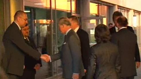 Princ Charles v Brně