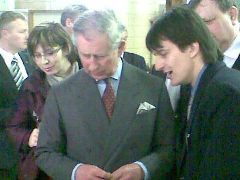 princ Charles v Hostětíně