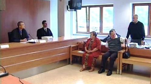 Manželé Rosnerovi před soudem