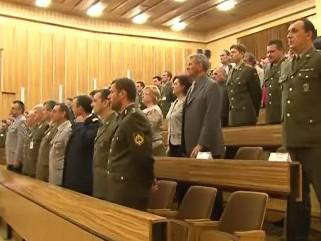 Vojenská akademie připomněla vstup do NATO