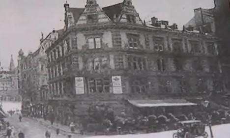 Budova současné kavárny Savoy