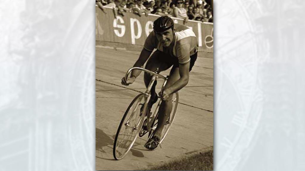 Cyklista Jiří Daler