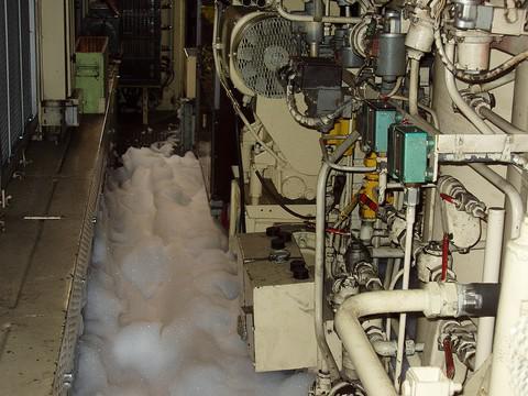 V Tišnově hořela za jízdy rychlíková lokomotiva