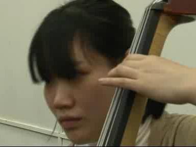 Zkouška japonského orchestru
