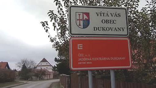 Obec Dukovany