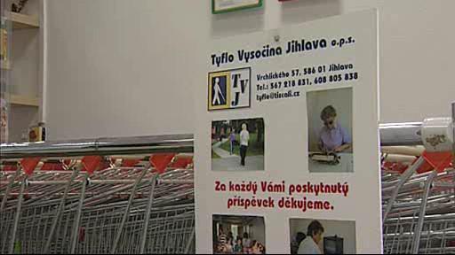 Sbírka Tyflo Vysočina Jihlava