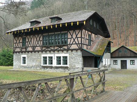 Hrázděný dům Švýcárna u Olomučan