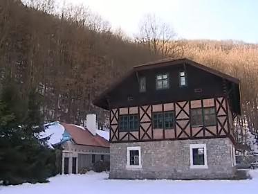 Bývalý hutní hostinec v Moravském krasu
