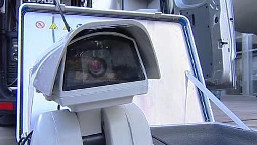 Monitorovací vůz ústecké policie