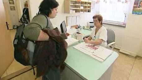 Pacientka u lékaře