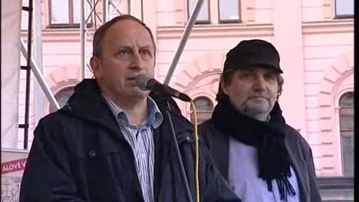 Jan Kraus a Břetislav Rychlík na festivalu