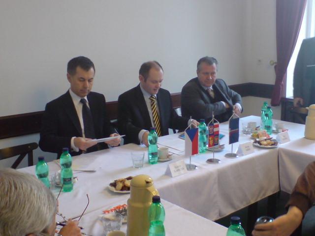 Ministr Slamečka v Brně